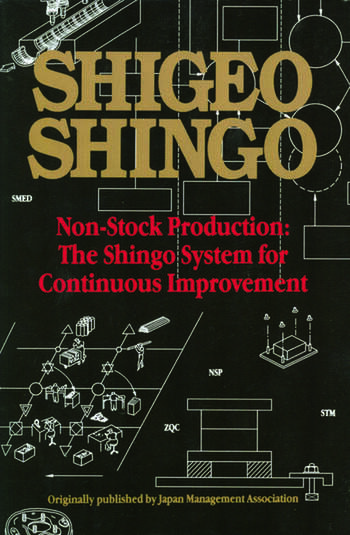 Non-Stock Production The Shingo System of Continuous Improvement book cover