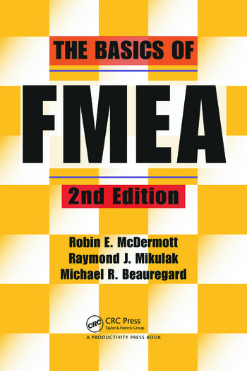The Basics of FMEA book cover