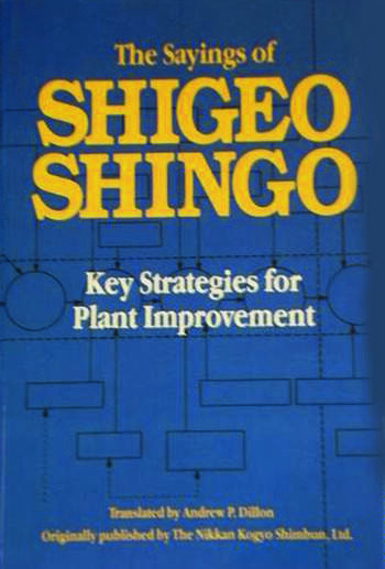 The Sayings of Shigeo Shingo Key Strategies for Plant Improvement book cover
