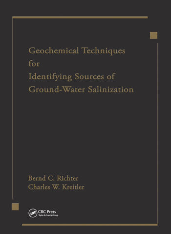 Geochemical Techniques for Identifying Sources of Ground-Water Salinization book cover