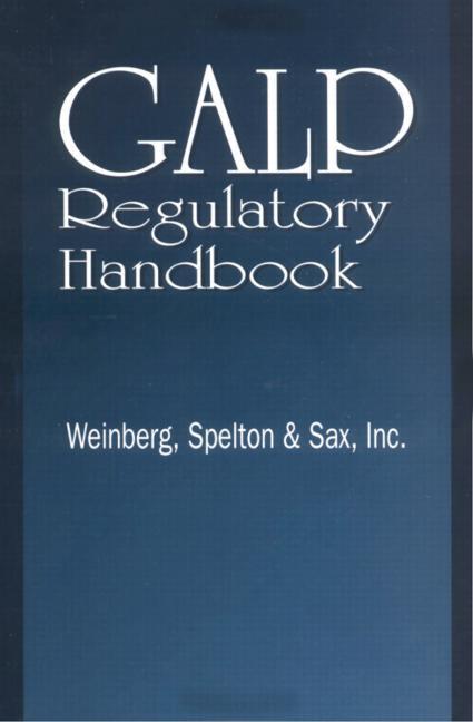 GALP Regulatory Handbook book cover