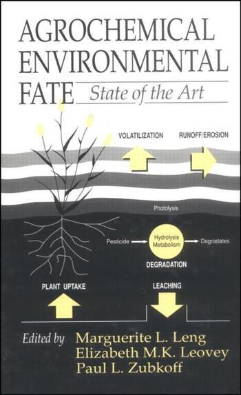 Agrochemical Environmental Fate State of the Art book cover