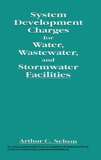 System Development Charges for Water, Wastewater, and Stormwater Facilities book cover