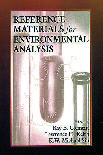 Reference Materials for Environmental Analysis book cover