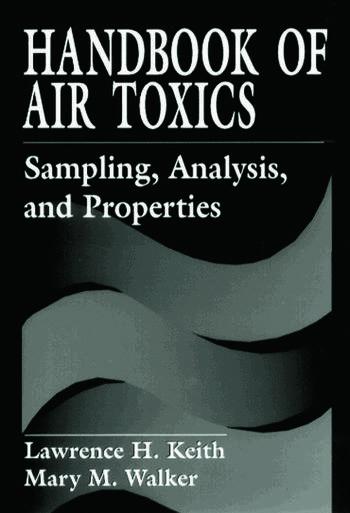 Handbook of Air Toxics Sampling, Analysis, and Properties book cover