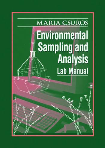 Environmental Sampling and Analysis Lab Manual book cover
