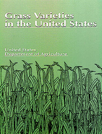 Grass Varieties in the United States book cover