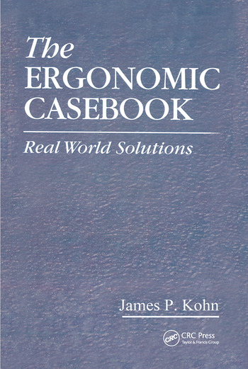 The Ergonomic Casebook Real World Solutions book cover