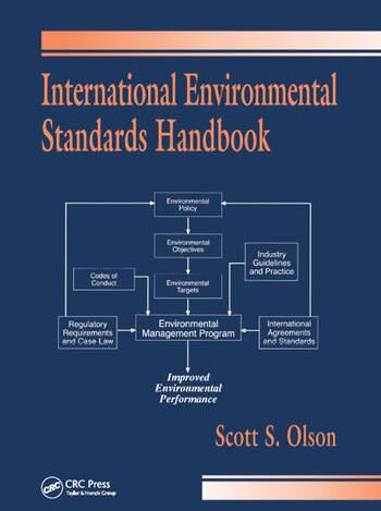 International Environmental Standards Handbook book cover