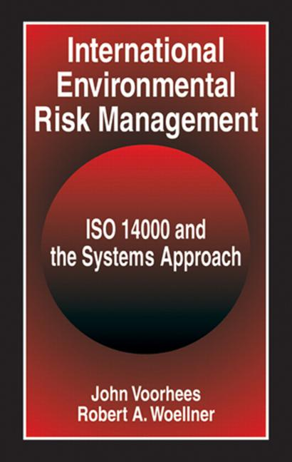 International Environmental Risk Management ISO 14000 and the Systems Approach book cover