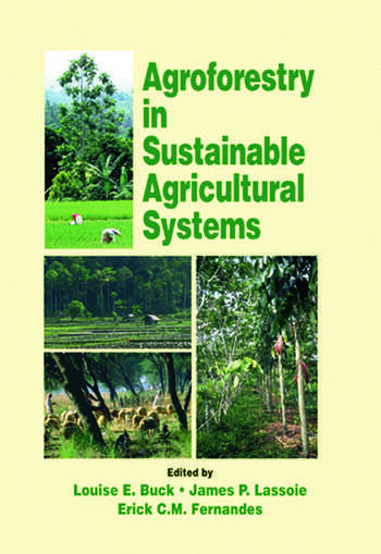 Agroforestry in Sustainable Agricultural Systems book cover