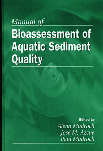 Manual of Bioassessment of Aquatic Sediment Quality book cover