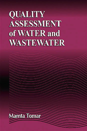 Quality Assessment of Water and Wastewater book cover