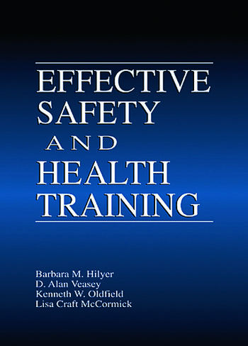 Effective Safety and Health Training book cover