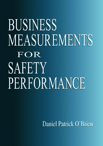 Business Measurements for Safety Performance book cover