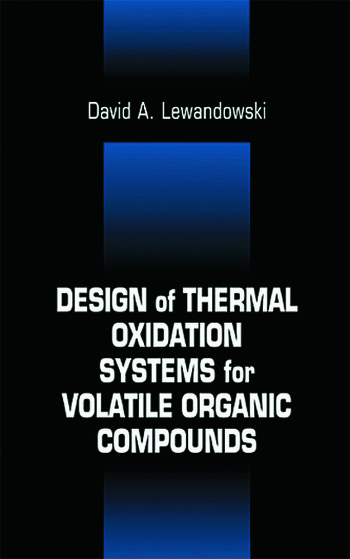 Design of Thermal Oxidation Systems for Volatile Organic Compounds book cover