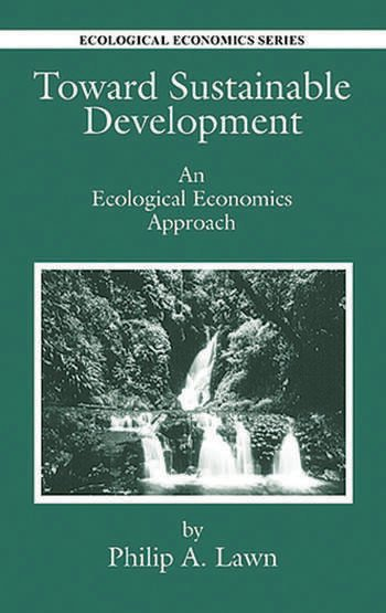 Toward Sustainable Development An Ecological Economics Approach book cover