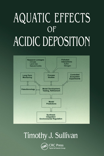 Aquatic Effects of Acidic Deposition book cover