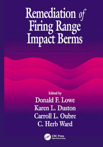 Remediation of Firing Range Impact Berms book cover