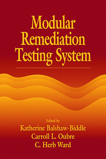 Modular Remediation Testing Systems book cover