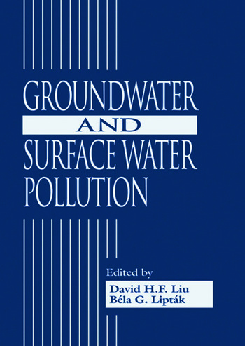 Groundwater and Surface Water Pollution book cover