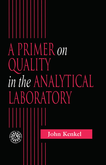 A Primer on Quality in the Analytical Laboratory book cover