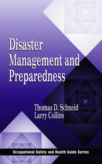Disaster Management and Preparedness book cover