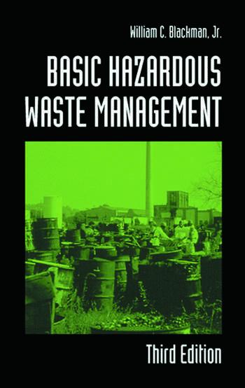Basic Hazardous Waste Management, Third Edition book cover