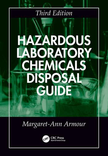 Hazardous Laboratory Chemicals Disposal Guide book cover