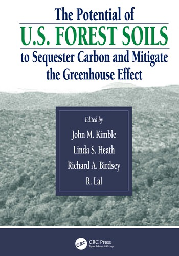 The Potential of U.S. Forest Soils to Sequester Carbon and Mitigate the Greenhouse Effect book cover