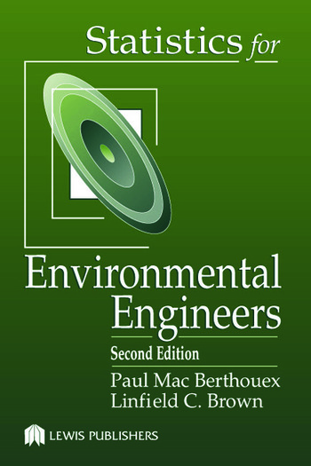 Statistics for Environmental Engineers book cover