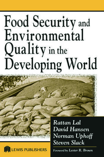 Food Security and Environmental Quality in the Developing World book cover