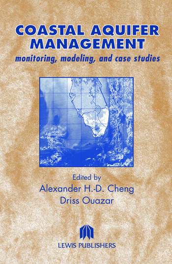 Coastal Aquifer Management-Monitoring, Modeling, and Case Studies book cover