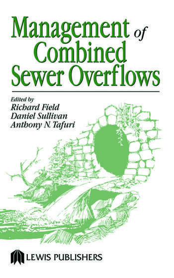 Management of Combined Sewer Overflows book cover
