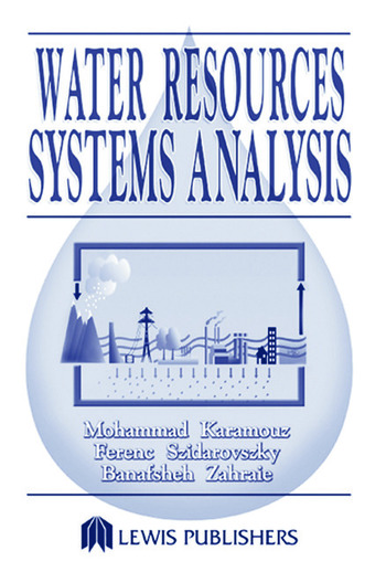 Water Resources Systems Analysis book cover