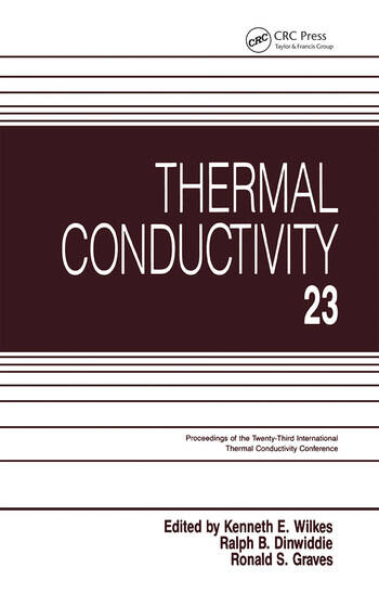 Thermal Conductivity 23 book cover