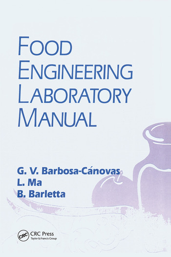 Food Engineering Laboratory Manual book cover