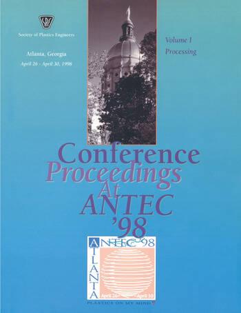 SPE/ANTEC 1998 Proceedings book cover