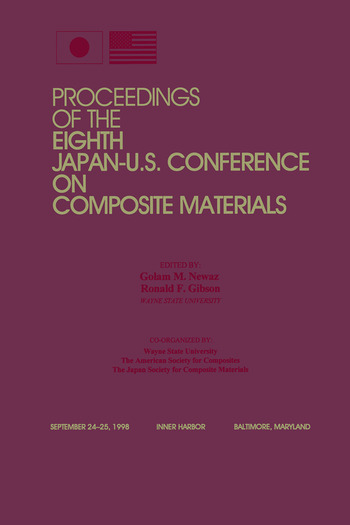 Adaptive Structures, Eighth Japan/US Conference Proceedings book cover