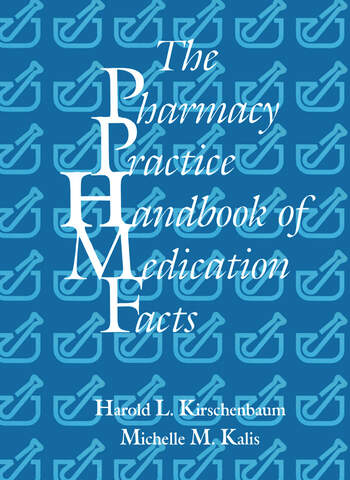 The Pharmacy Practice Handbook of Medication Facts book cover