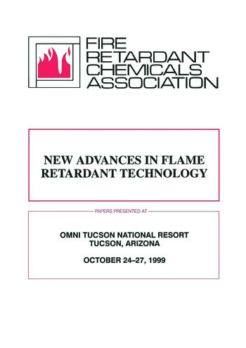Frca New Advances in Flame Retardant Technology book cover