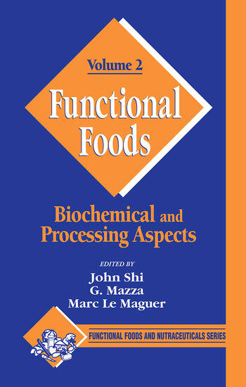 Functional Foods Biochemical and Processing Aspects, Volume 2 book cover