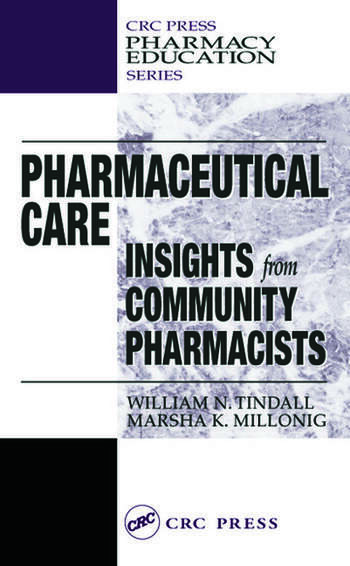 Pharmaceutical Care INSIGHTS from COMMUNITY PHARMACISTS book cover