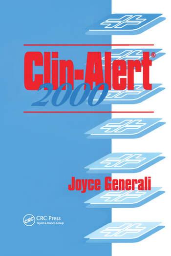 Clin-Alert 2000 book cover