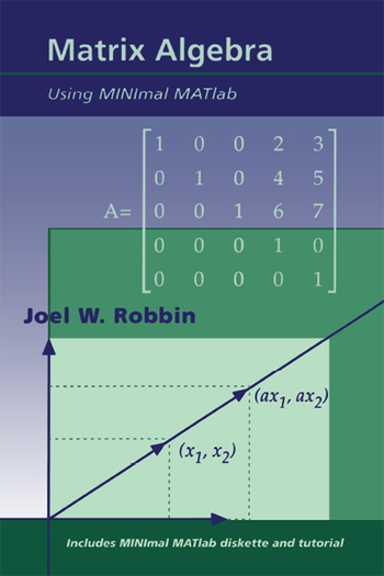 Matrix Algebra Using MINimal MATlab book cover