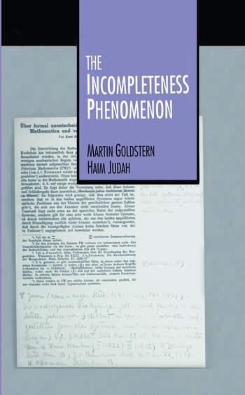 The Incompleteness Phenomenon book cover