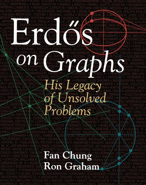 Erdös on Graphs His Legacy of Unsolved Problems book cover