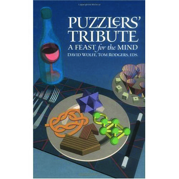 Puzzlers' Tribute A Feast for the Mind book cover