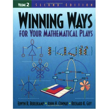 Winning Ways for Your Mathematical Plays, Volume 2 book cover