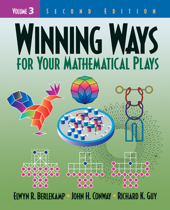 Winning Ways for Your Mathematical Plays, Volume 3 book cover
